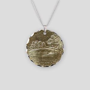 Battle of Antietam Half Doll Necklace Circle Charm