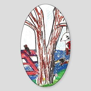 Harmony of Nature Sticker (Oval)