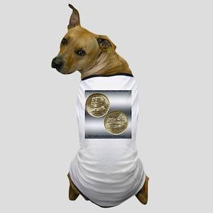Battle of Antietam Half Dollar Coin Dog T-Shirt