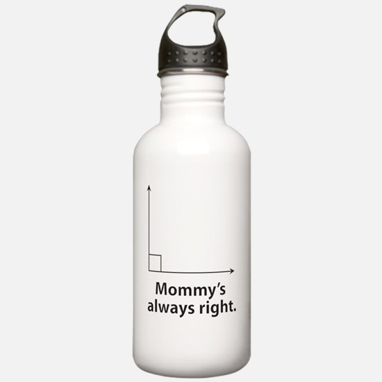 Mommys always right Water Bottle