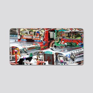Jeepneys Aluminum License Plate