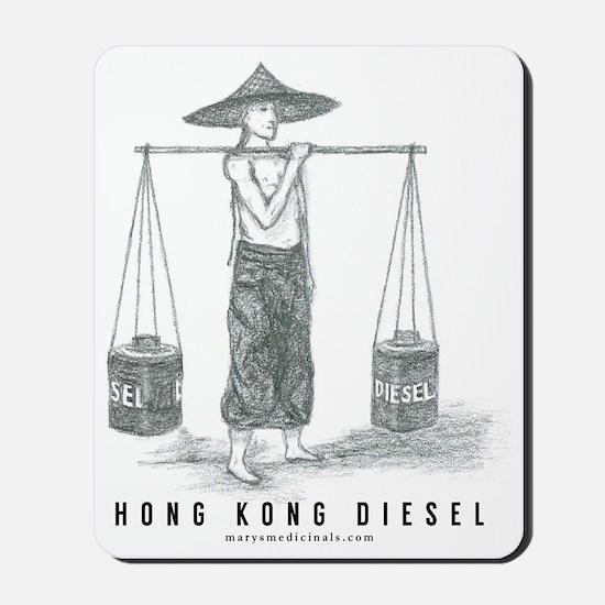 Hong Kong Diesel Mousepad