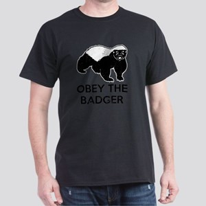 Obey The Badger Dark T-Shirt