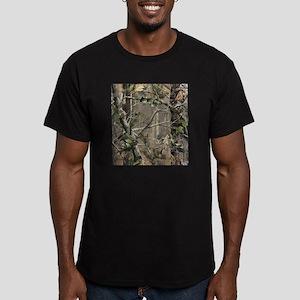 Camo Men's Fitted T-Shirt (dark)