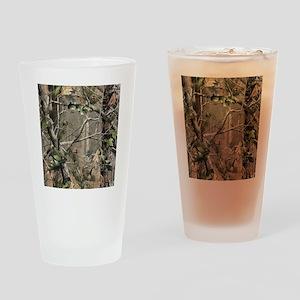 Camo Drinking Glass