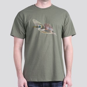 pelican flying Dark T-Shirt