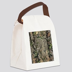 Camo Canvas Lunch Bag