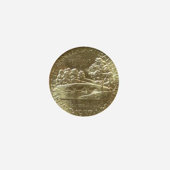 Battle of Antietam Half Dollar Coin Mini Button