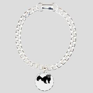 Honey Badger Is Just Cra Charm Bracelet, One Charm