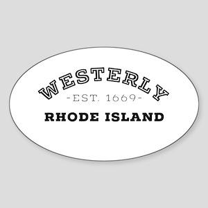 Westerly Rhode Island Sticker