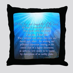 Soul Connections - Cosmic Throw Pillow