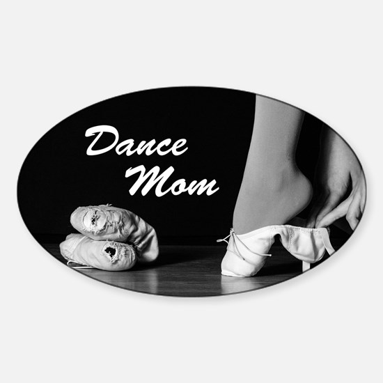 Dance Mom Magnet Sticker (Oval)