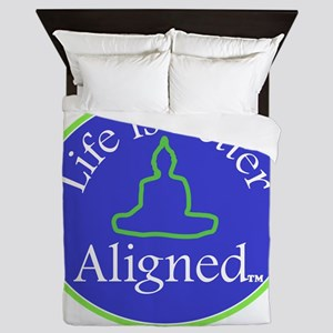 Buddha Life is Better Queen Duvet