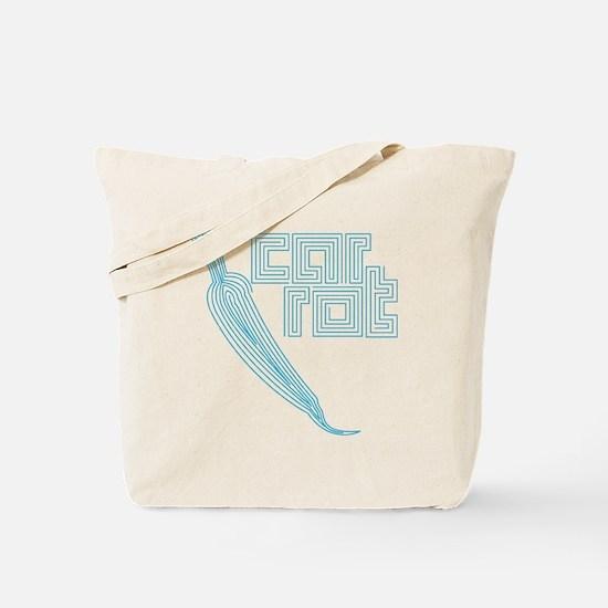 wt_s_carrot Tote Bag