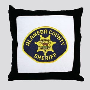 Alameda County Sheriff Throw Pillow
