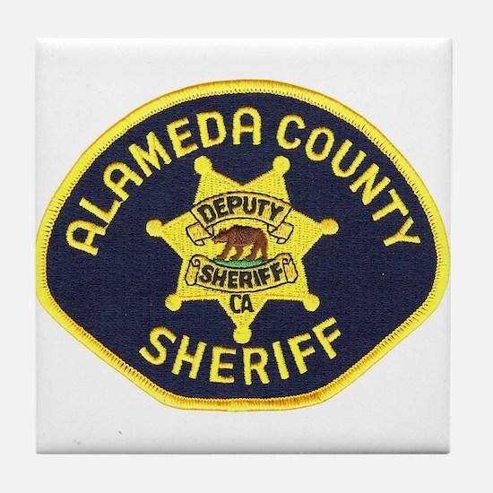 Alameda County Sheriff Tile Coaster