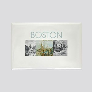 boston2tran Rectangle Magnet