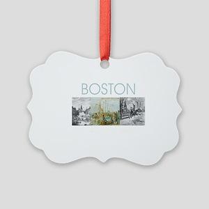 boston2tran Picture Ornament