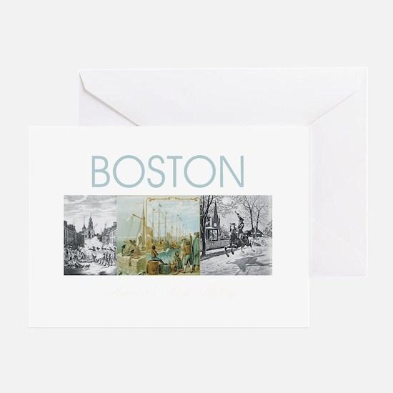 boston2tran Greeting Card