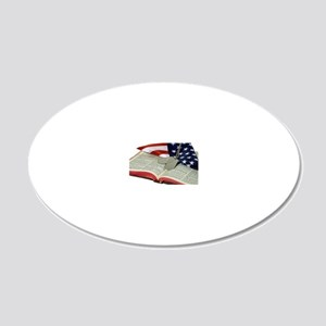 Armed Forces 20x12 Oval Wall Decal
