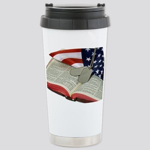 Armed Forces Stainless Steel Travel Mug