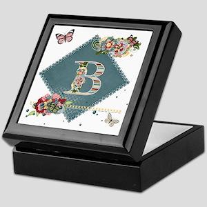 Dreamland Monogram B Keepsake Box