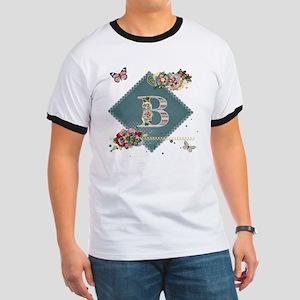 Dreamland Monogram B Ringer T