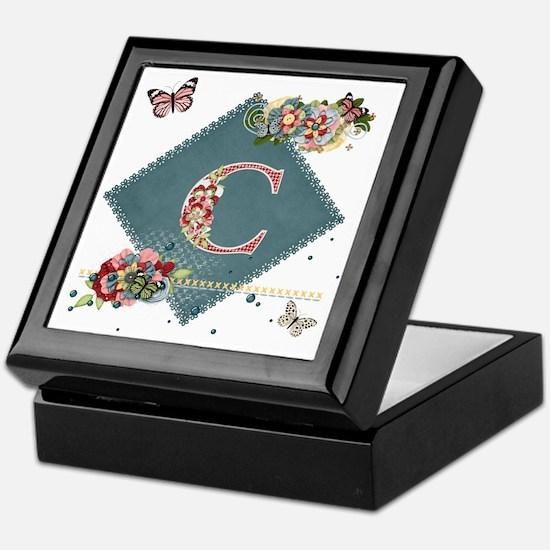 Dreamland Monogram C Keepsake Box