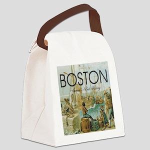 boston2b Canvas Lunch Bag