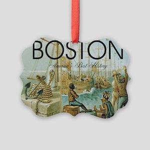 boston2b Picture Ornament