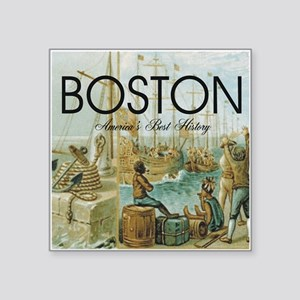 """boston2b Square Sticker 3"""" x 3"""""""