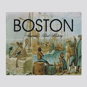 boston2b Throw Blanket