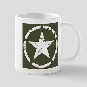 Military Star Grunge Mug