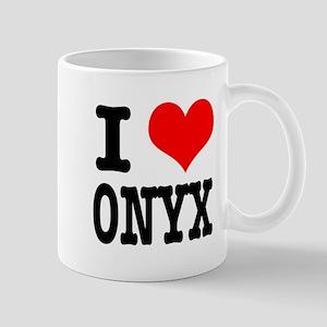 I Heart (Love) Onyx Mug