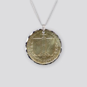 Battle of Gettysburg Half Do Necklace Circle Charm