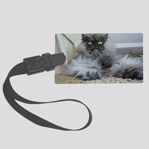Colonel Meow surprise Large Luggage Tag