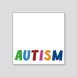 "autismBrat1E Square Sticker 3"" x 3"""