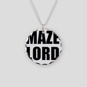 MAZE LORD - Light Shirt Necklace Circle Charm