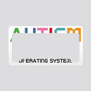 autismSystem2A License Plate Holder
