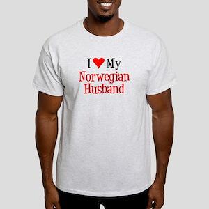 Love My Norwegian Husband T-Shirt