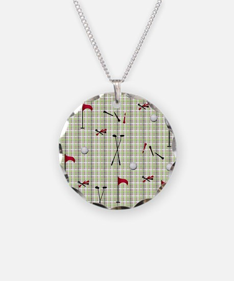 Hole in One Golf Equipment o Necklace