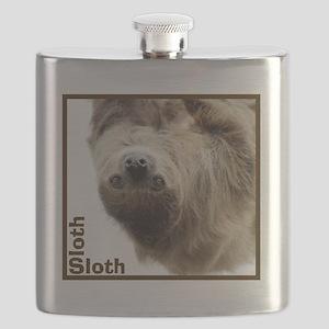 Sloth T-Shirt Flask