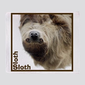 Sloth T-Shirt Throw Blanket