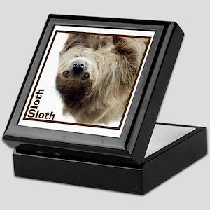 Sloth T-Shirt Keepsake Box