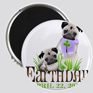 Earth Days PUGS 13 Magnet
