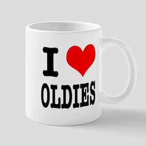 I Heart (Love) Oldies Mug