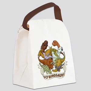 I Heart Dinosaurs Canvas Lunch Bag