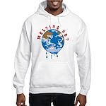 Earth Day ; Melting hot earth Hooded Sweatshirt
