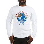 Earth Day ; Melting hot earth Long Sleeve T-Shirt