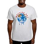 Earth Day ; Melting hot earth Light T-Shirt